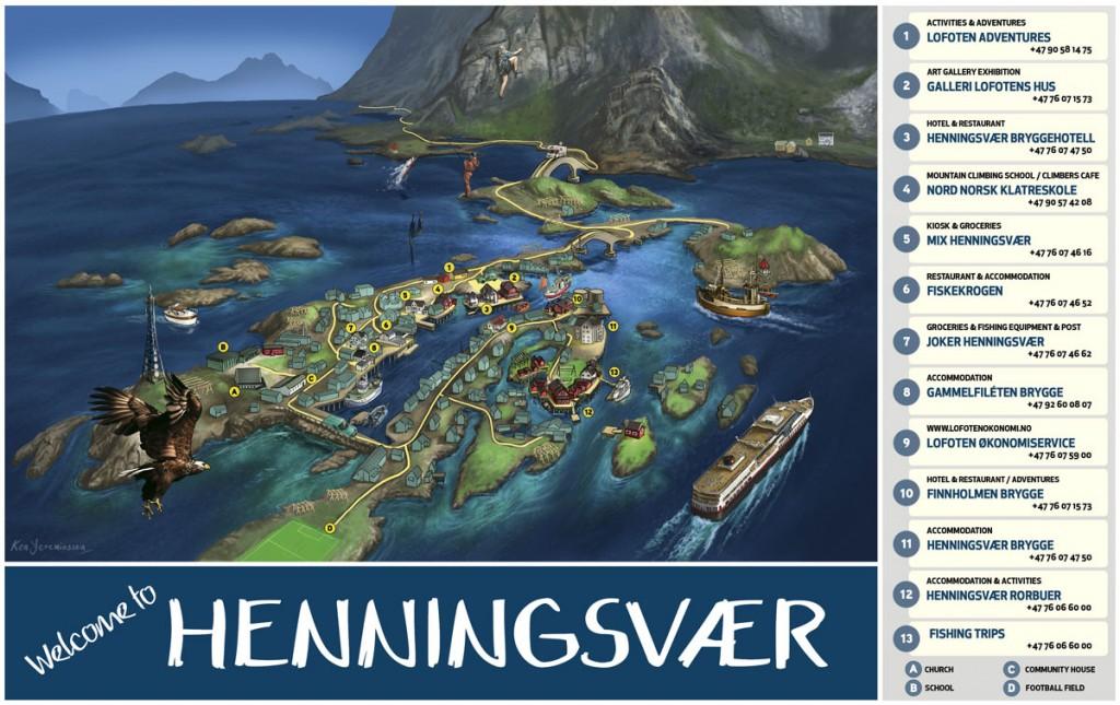 henningsvær kart Contact   Finnholmen Brygge AS henningsvær kart